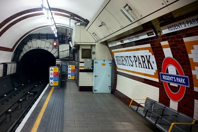 Police had to break up a drum 'n' bass rave on the London Underground