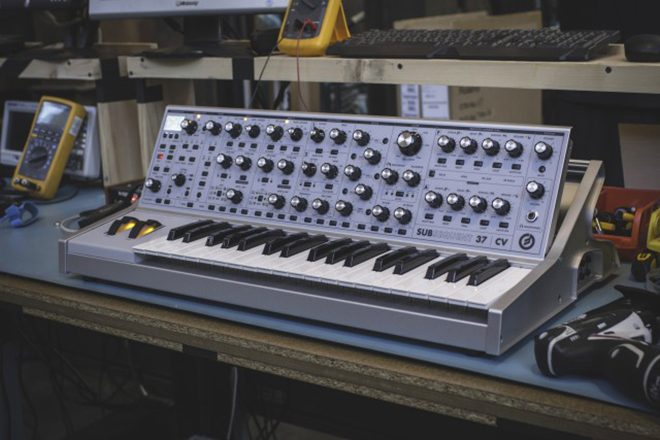 Moog unveils SUBSEQUENT 37 CV limited edition analogue synth