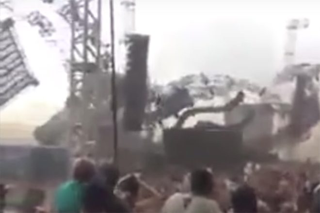DJ killed and others injured during stage collapse at Brazilian festival