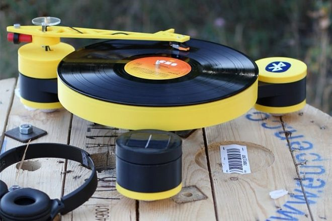 Lenco creates the world's first 3D printed record player, launches Kickstarter
