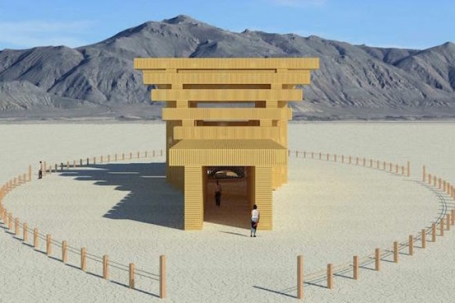 Burning Man unveils shrine-inspired temple design for 2019