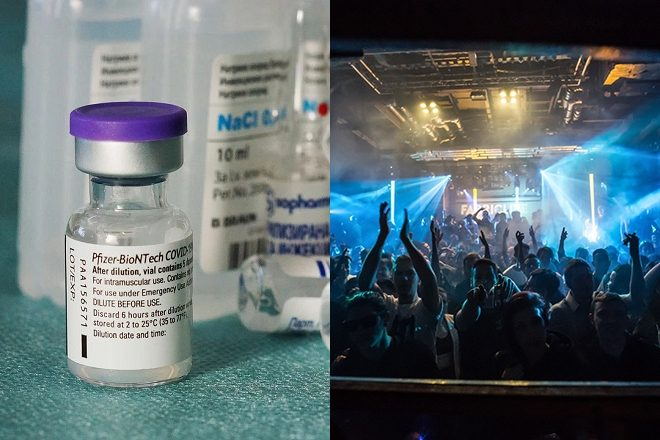 Vaccine passports could be used to help clubs and festivals return